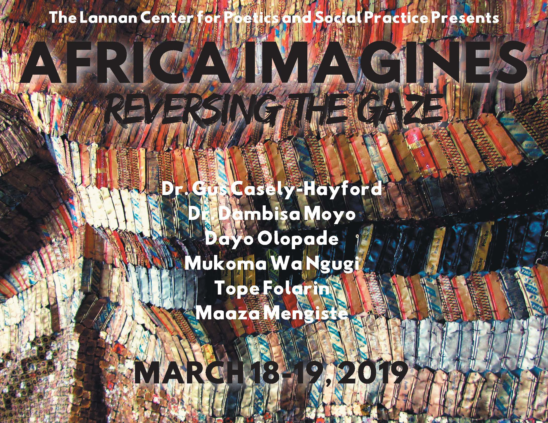 """Africa Imagines"" Event Poster"