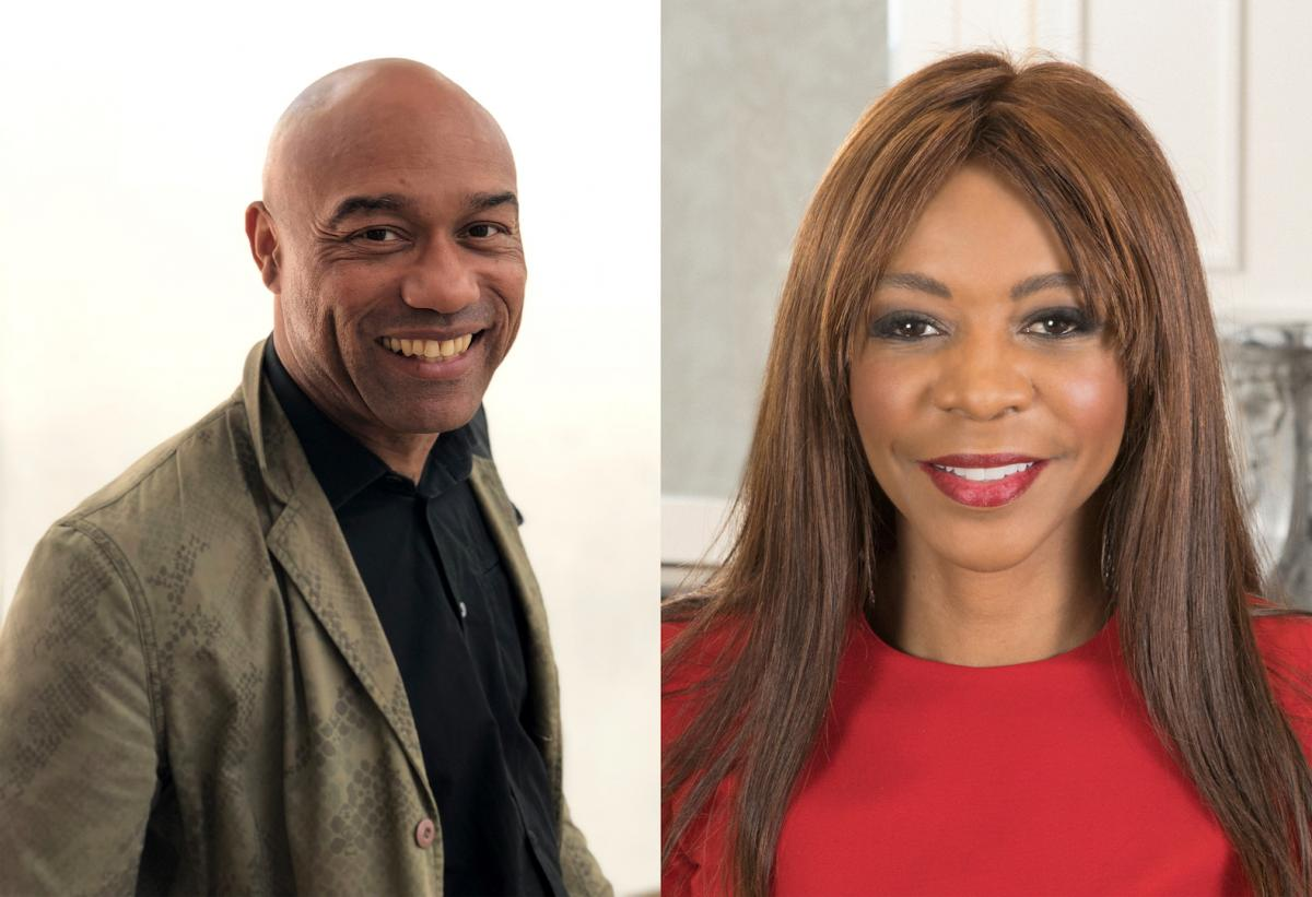 Dr. Gus Casely-Hayford and Dr. Dambisa Moyo