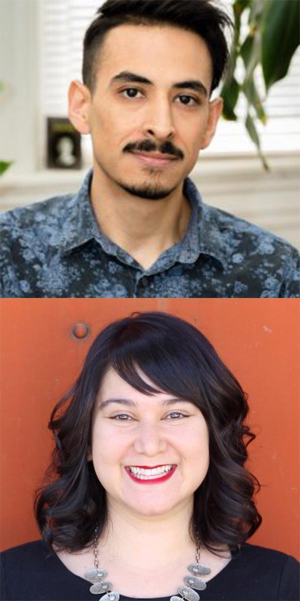 Marcelo Hernandez Castillo and Janine Joseph