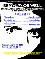 """Beyond Orwell"" Event Poster"