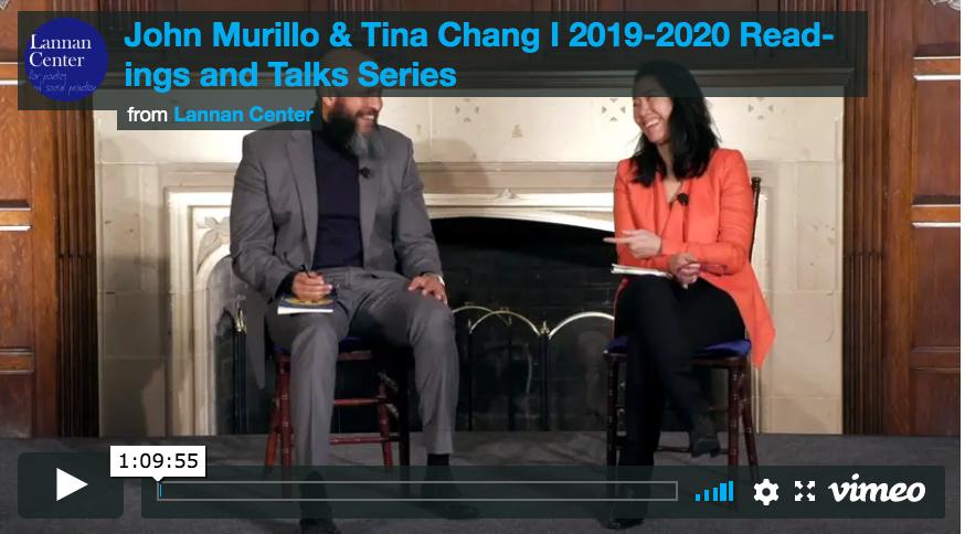 Tina Chang & John Murillo
