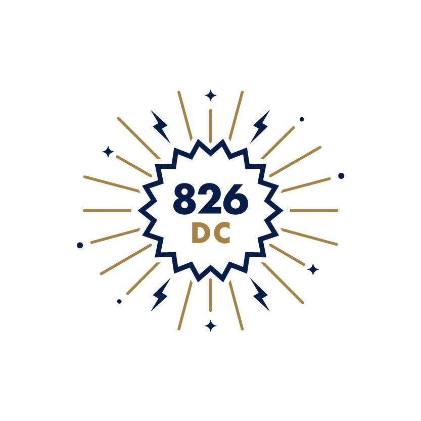 826DC Logo