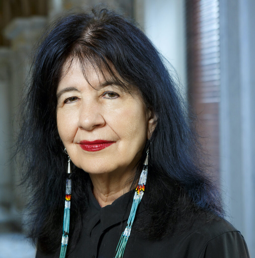 Poet Laureate of the United States Joy Harjo, June 6, 2019.