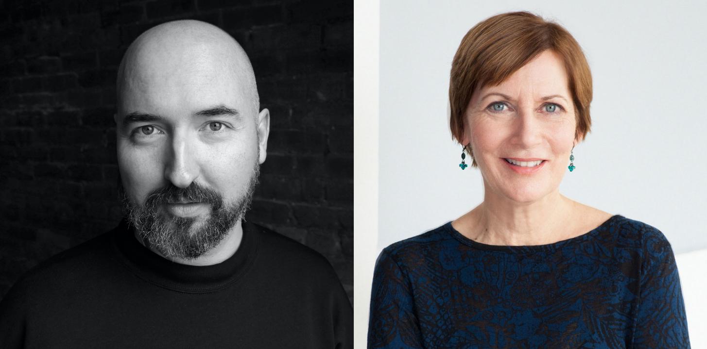 Douglas Stuart Headshot and Maureen Corrigan Headshot